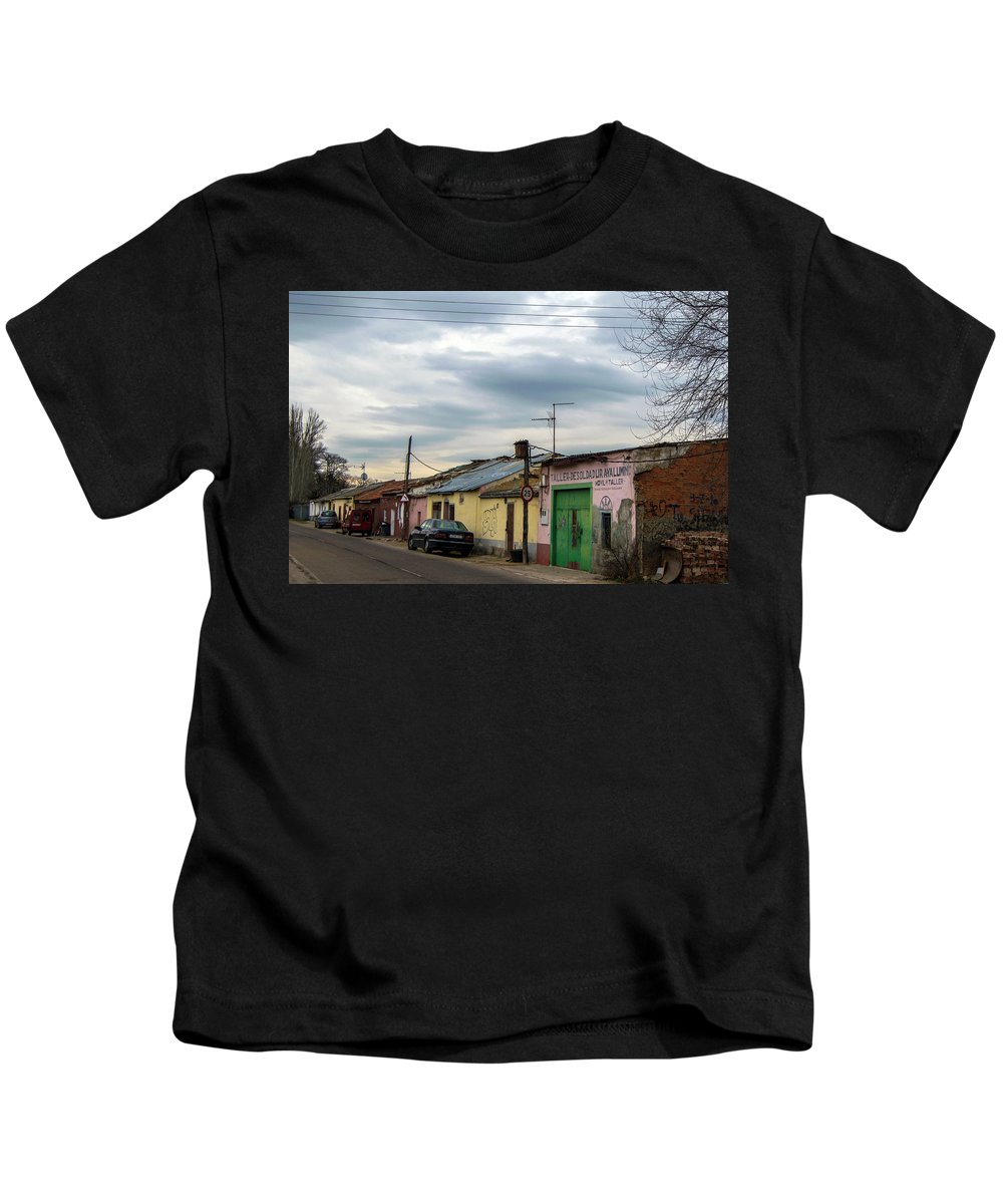 Village Kids T-Shirt featuring the photograph The Village by Alicia Fdez