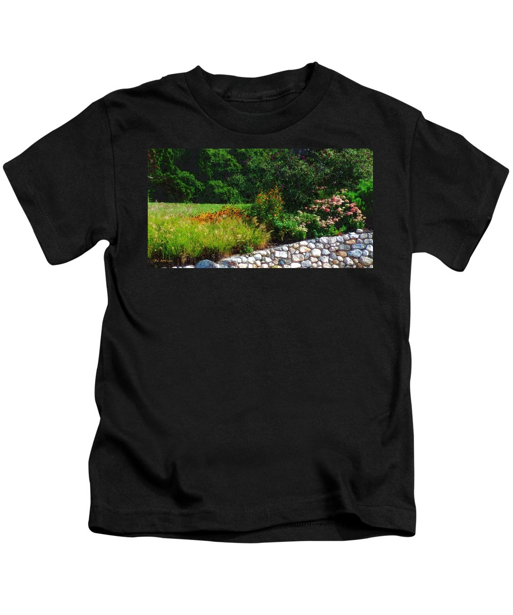 Connecticut Kids T-Shirt featuring the painting These Are A Few Of My Favorite Things by RC DeWinter