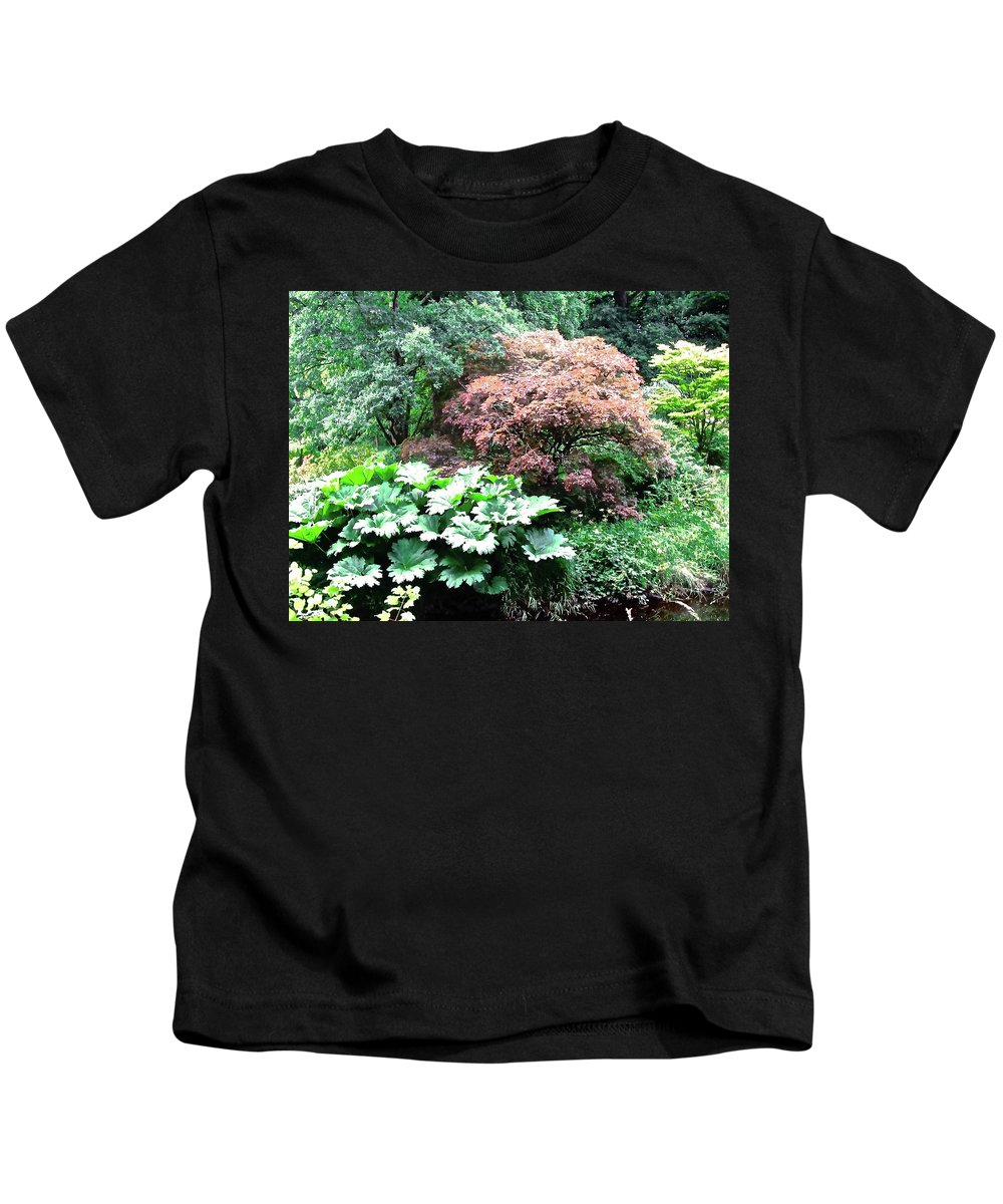 Leaves Kids T-Shirt featuring the photograph This Is Not The Jungle by Stephanie Moore