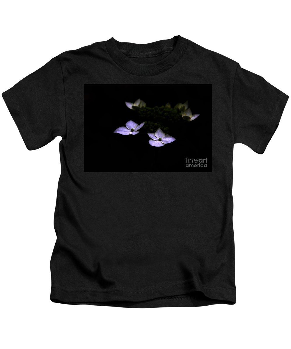 Hydrangea Kids T-Shirt featuring the photograph This Little Light Of Mine by Amanda Barcon