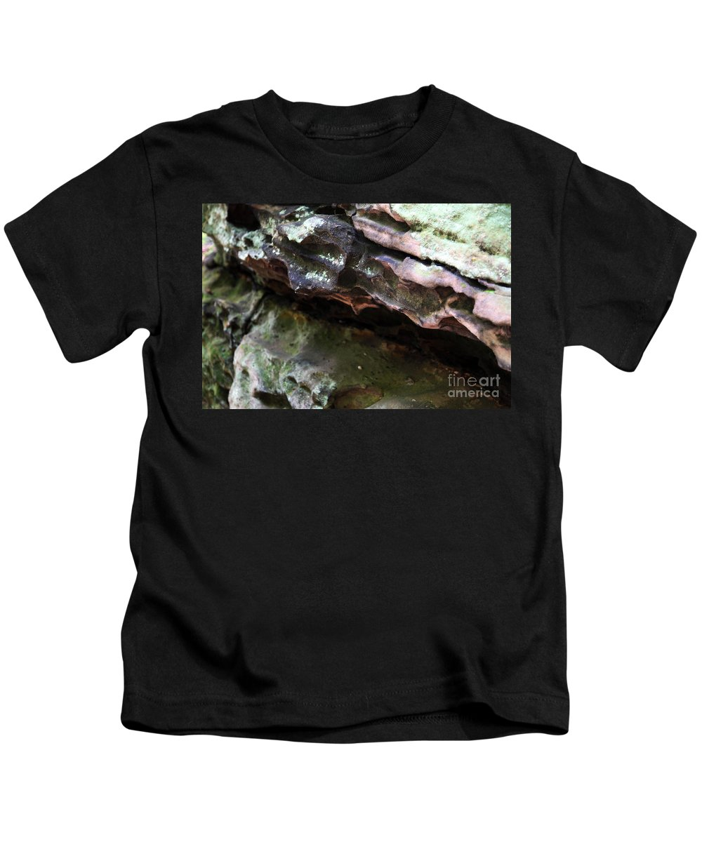 Mountainous Kids T-Shirt featuring the photograph Thoughts by Amanda Barcon