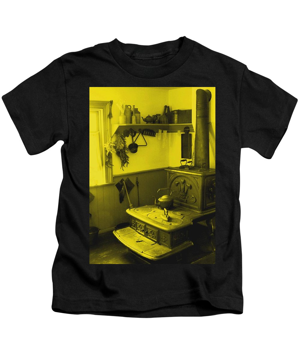 Iron Kids T-Shirt featuring the photograph Time For A New Kitchen by Ian MacDonald