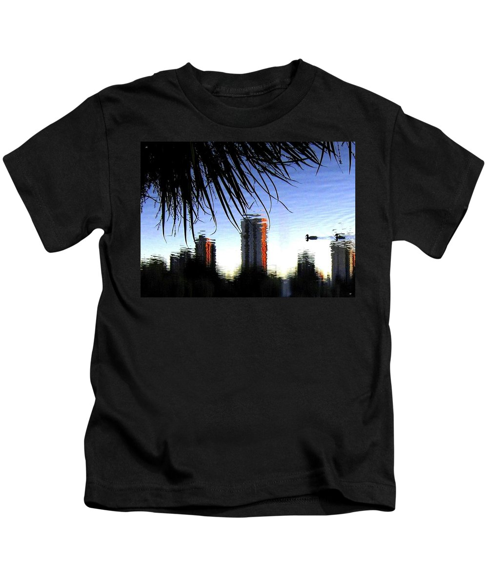 Sunset Kids T-Shirt featuring the photograph Topsy-turvy by Will Borden