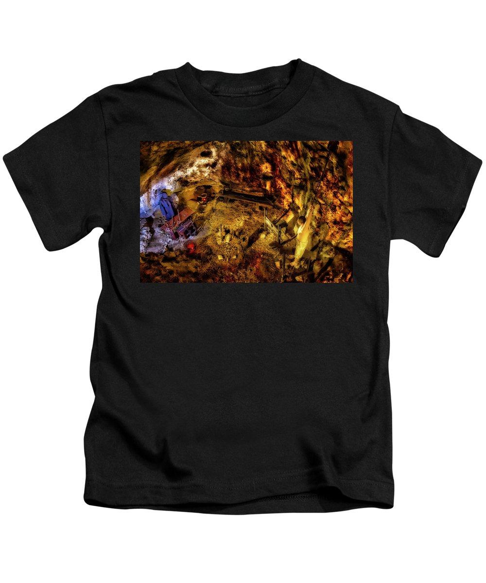 Slovenia Kids T-Shirt featuring the photograph Torture Chamber 1399 by Karen Celella