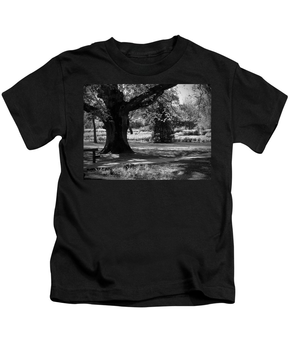 Irish Kids T-Shirt featuring the photograph Tralee Town Park Ireland by Teresa Mucha