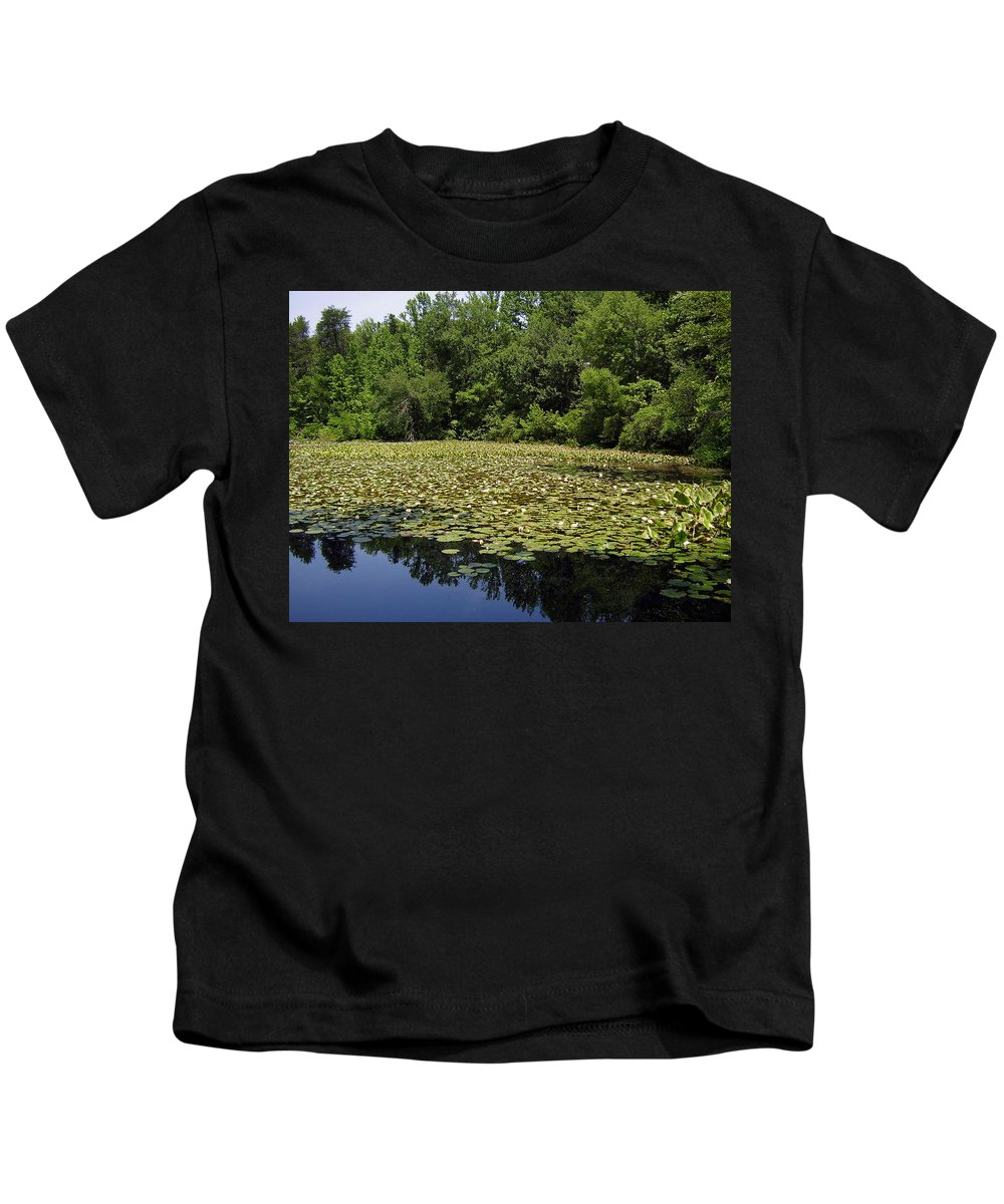 Tranquility Kids T-Shirt featuring the photograph Tranquility by Flavia Westerwelle