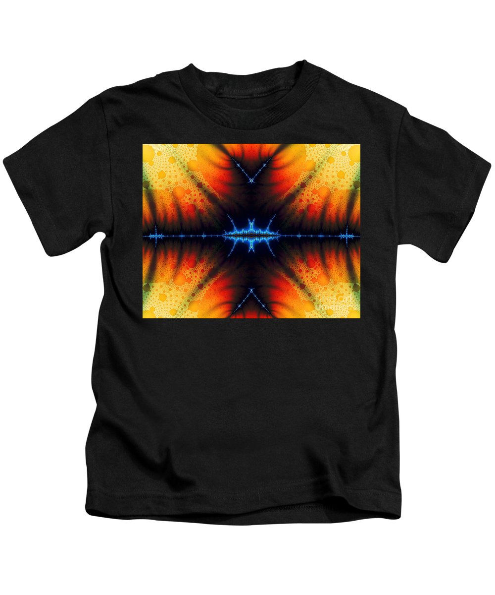 Clay Kids T-Shirt featuring the digital art Transient Propagation by Clayton Bruster