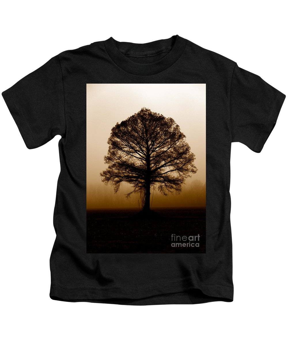 Trees Kids T-Shirt featuring the photograph Tree by Amanda Barcon