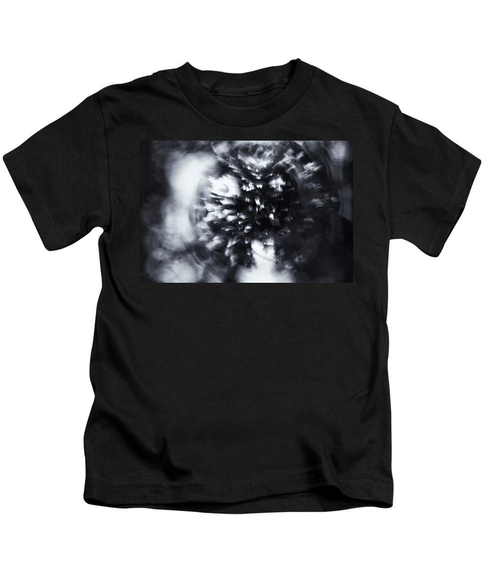 Abstract Kids T-Shirt featuring the photograph Tree Implosion by Scott Wyatt