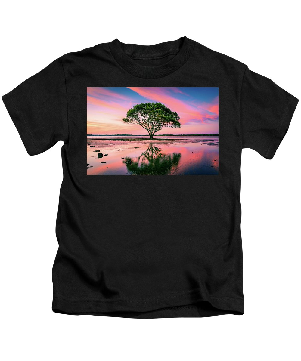 Australia Kids T-Shirt featuring the photograph Tree Of Life by Cameron Richardson