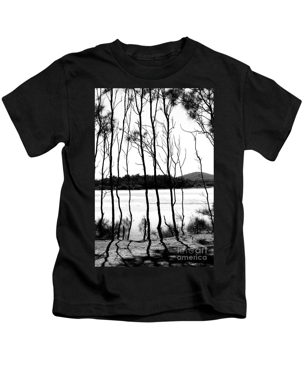 Trees Kids T-Shirt featuring the photograph Trees at Red Rock by Sheila Smart Fine Art Photography