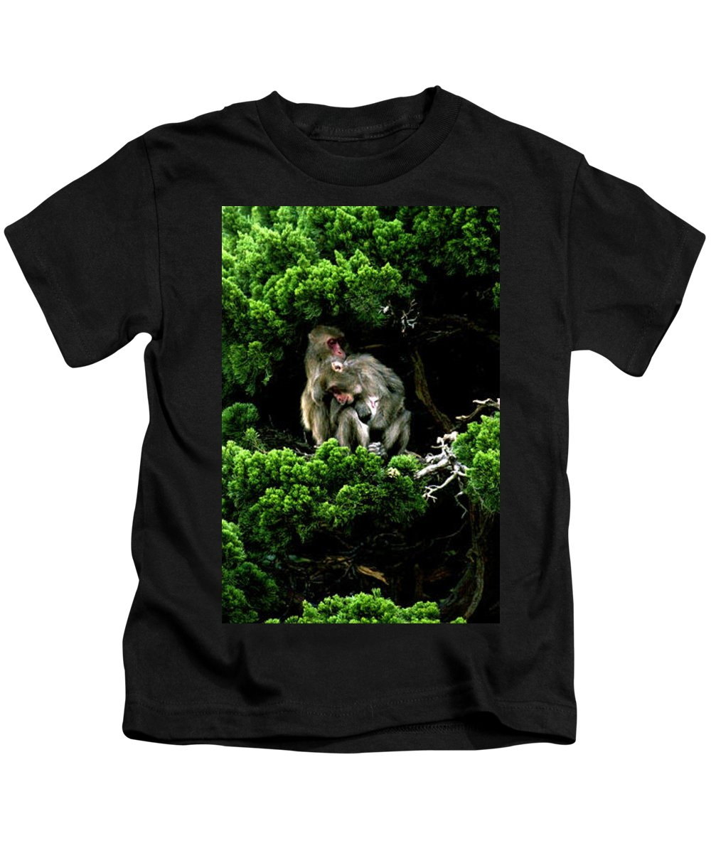 Trees Kids T-Shirt featuring the photograph Trees In Japan 10 by George Cabig