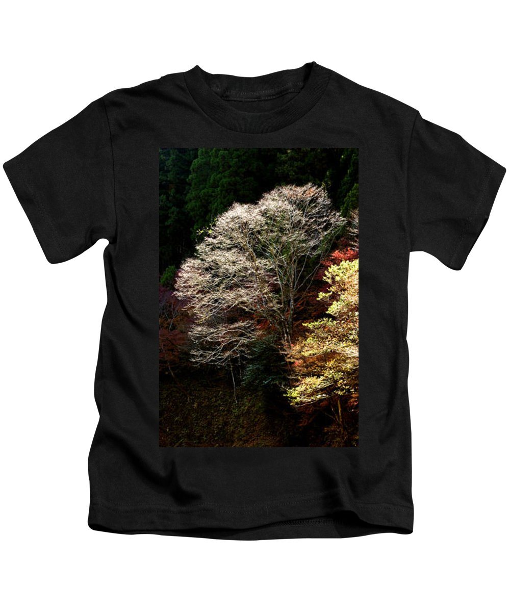 Trees Kids T-Shirt featuring the photograph Trees In Japan 11 by George Cabig