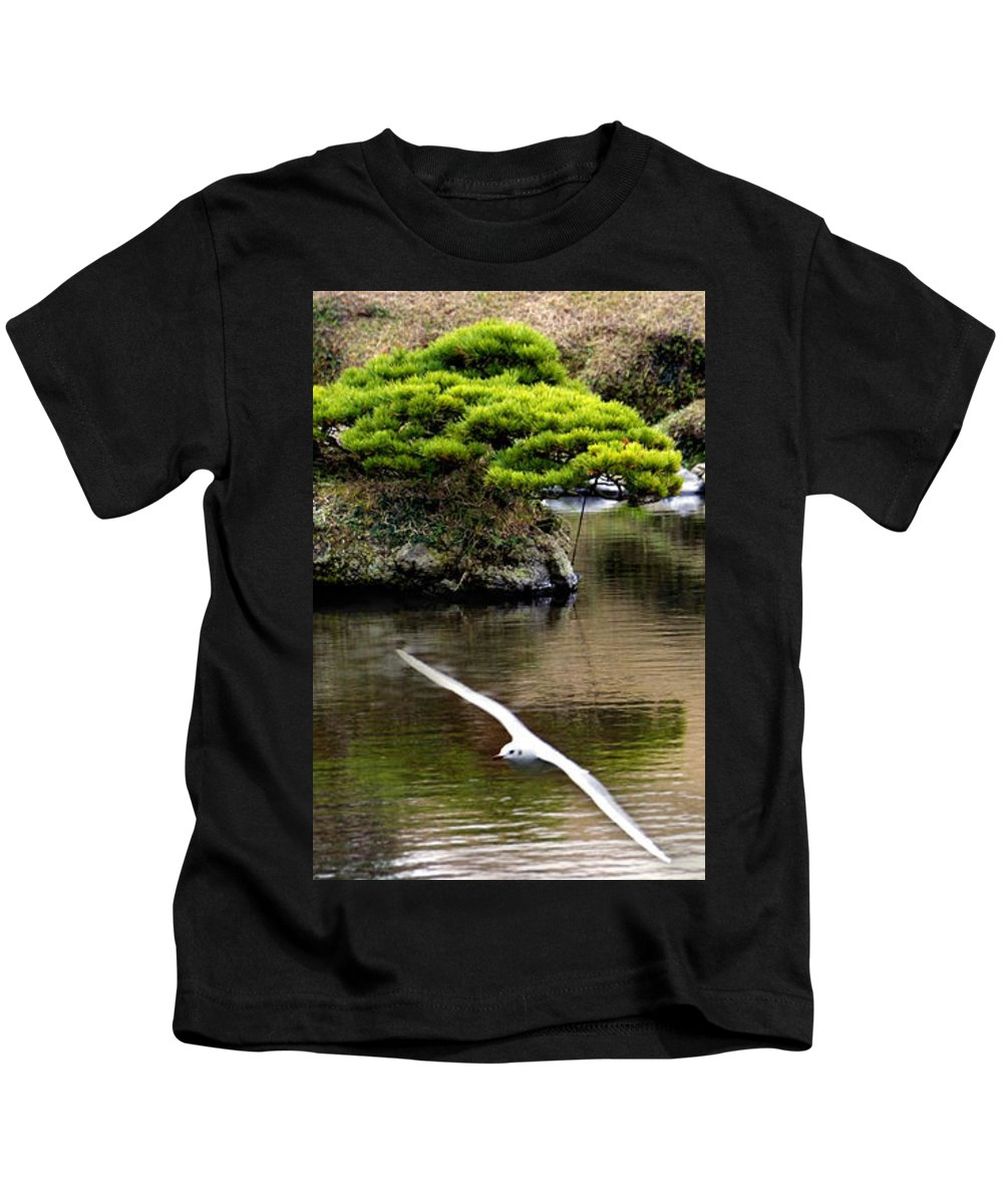 Trees Kids T-Shirt featuring the photograph Trees In Japan 14 by George Cabig