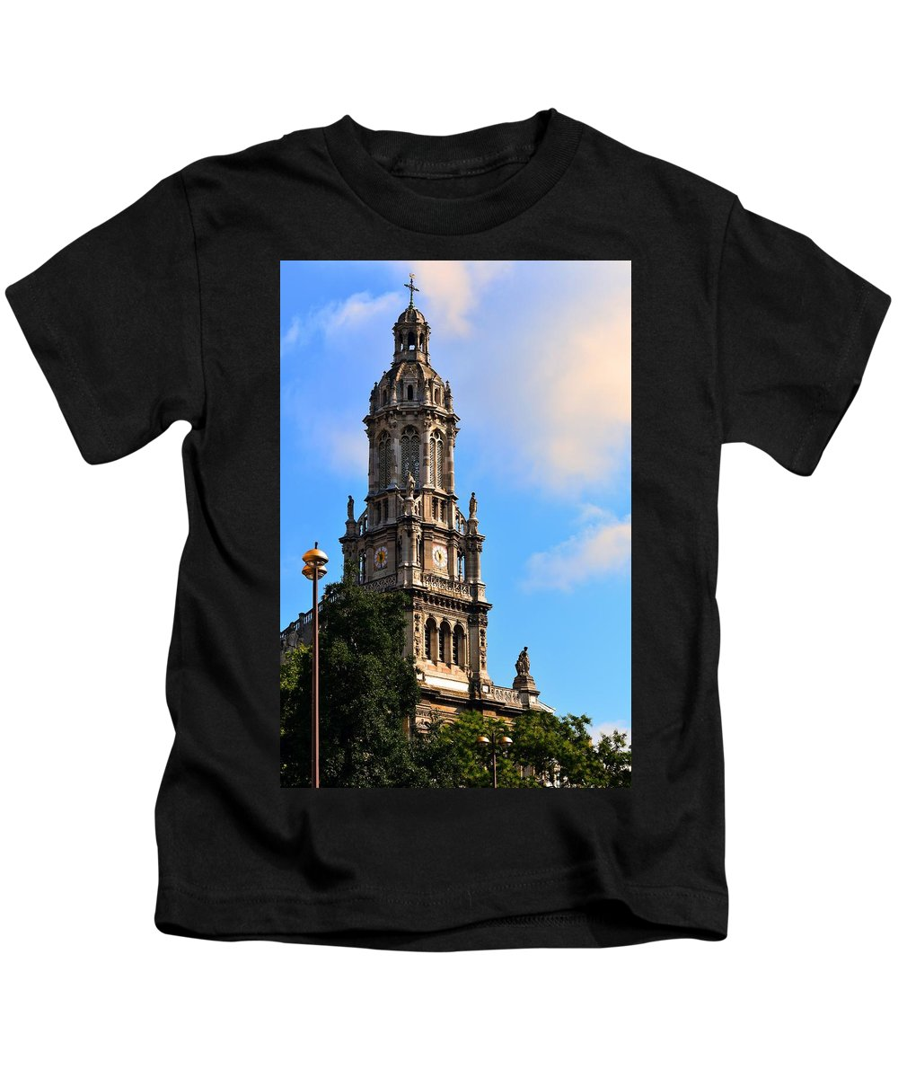 Church Kids T-Shirt featuring the photograph Trinity Church by Valerie Dauce