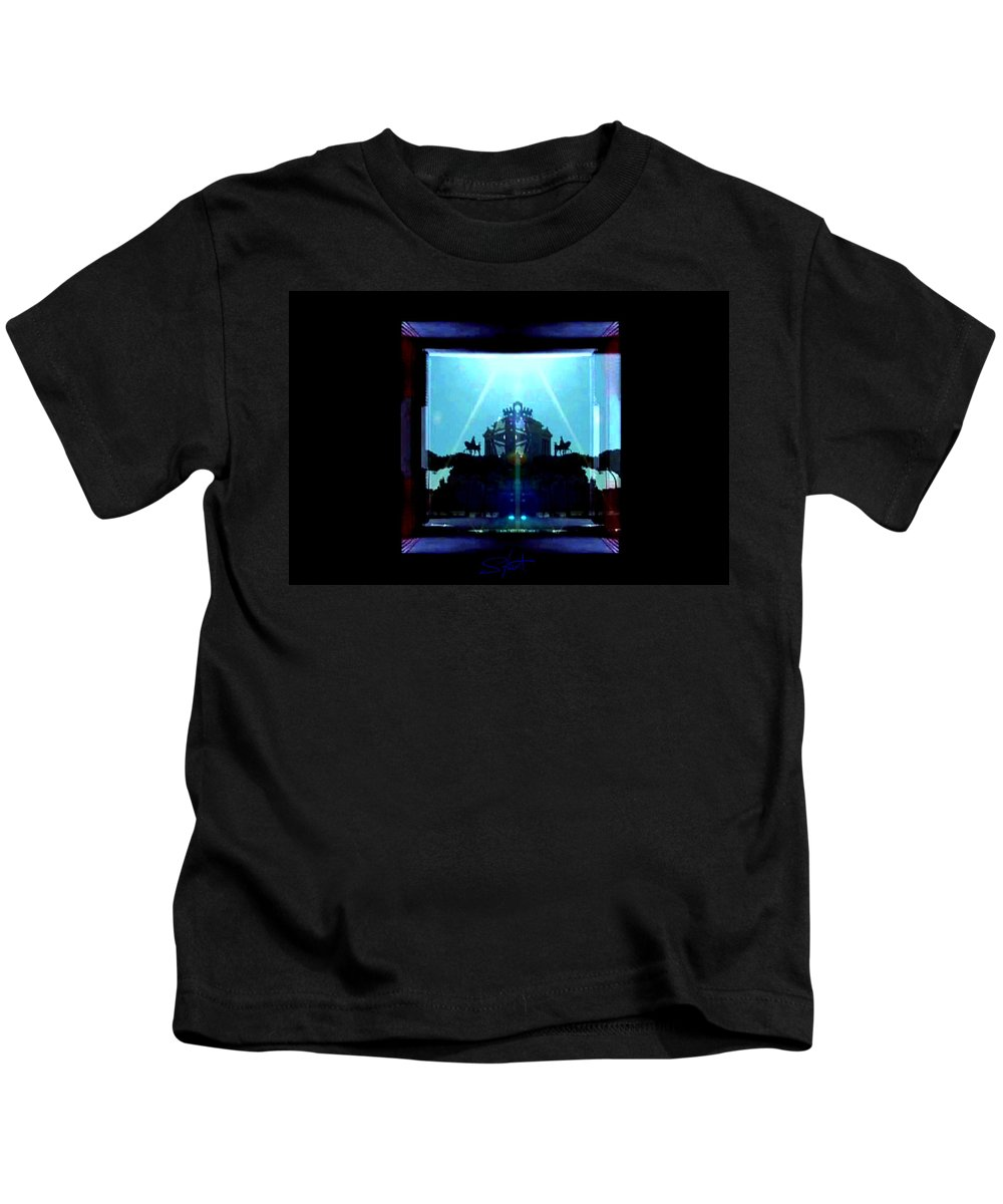 Dream Kids T-Shirt featuring the photograph Triumph In Rome by Charles Stuart