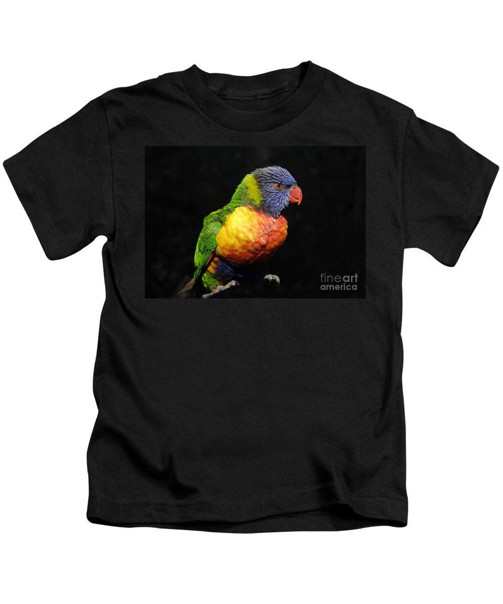 Tropical Kids T-Shirt featuring the photograph Tropical Colors by David Lee Thompson
