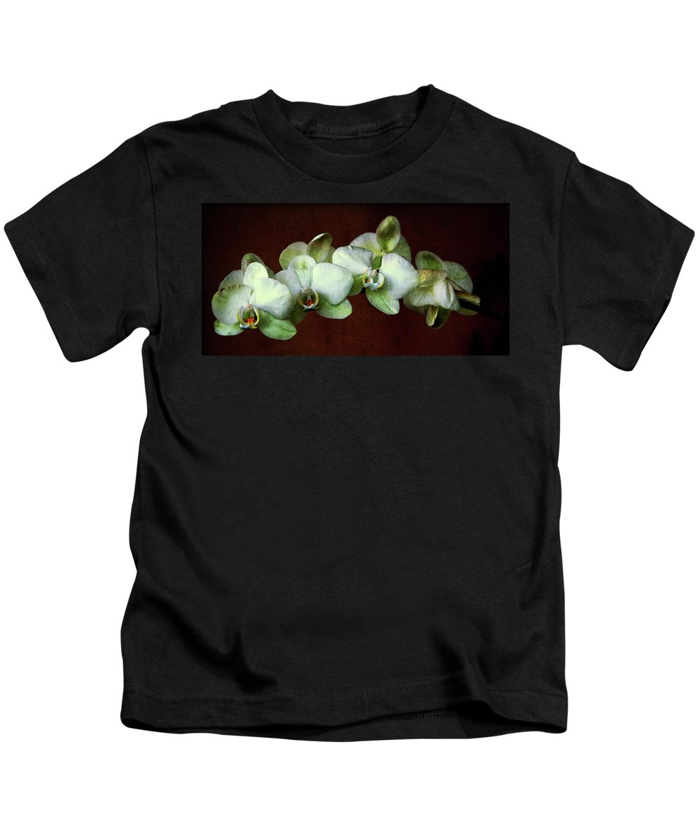 Orchids Kids T-Shirt featuring the photograph Tropical Dream by Susanne Van Hulst