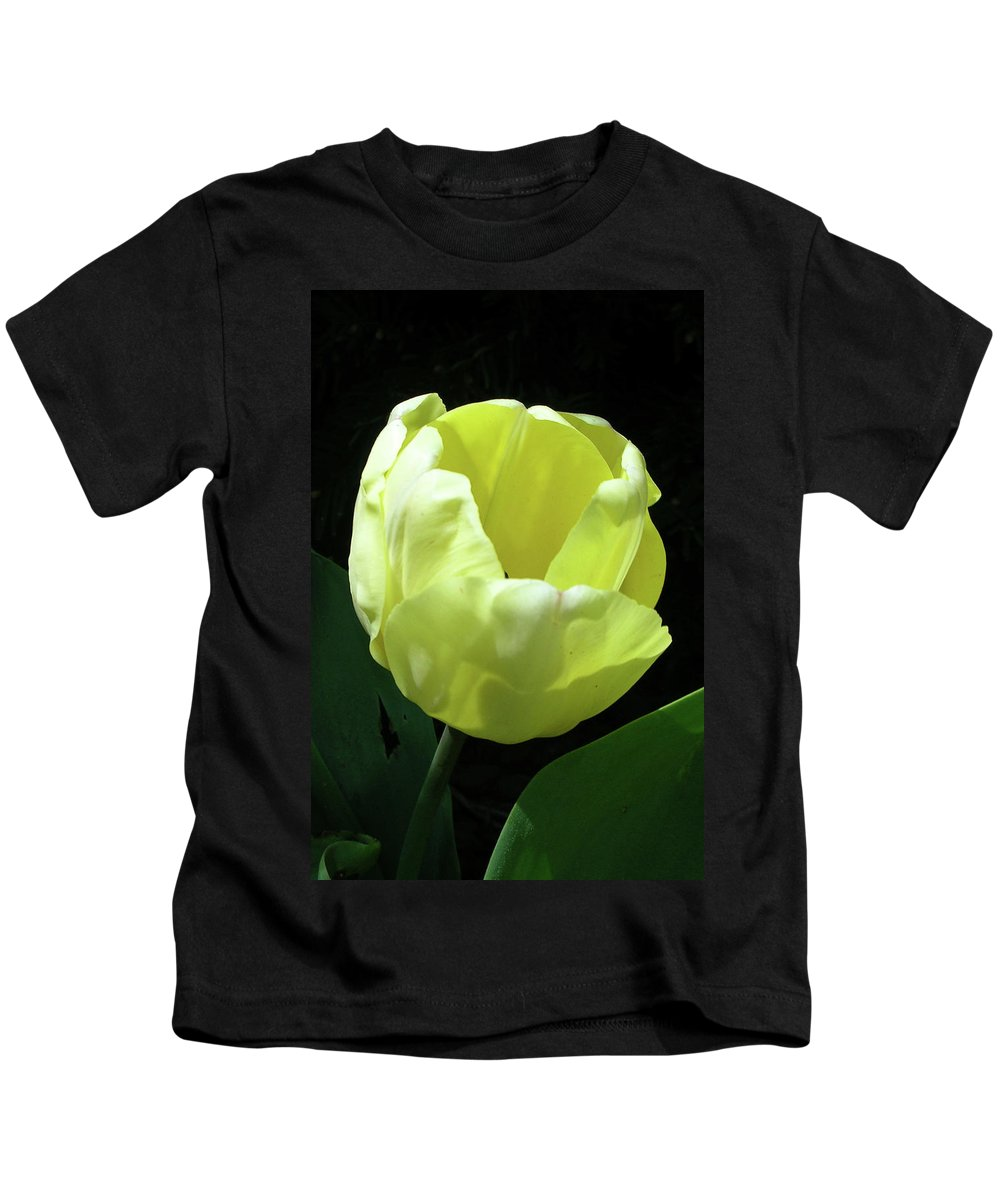 Flowers Kids T-Shirt featuring the photograph Tulip 0755 by Guy Whiteley