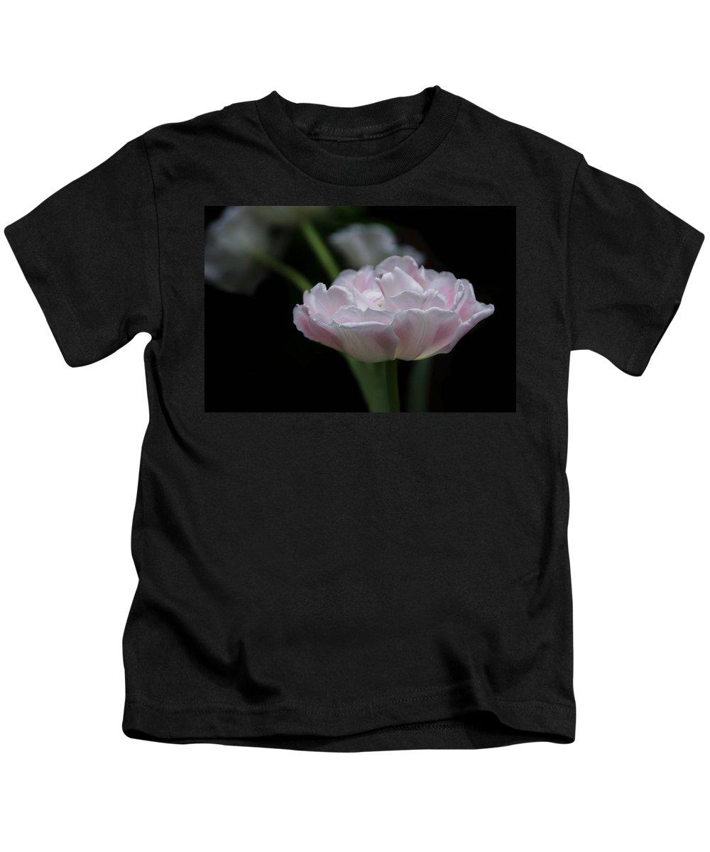 Tulip Kids T-Shirt featuring the photograph Tulip Mistique by Eleanor Bortnick