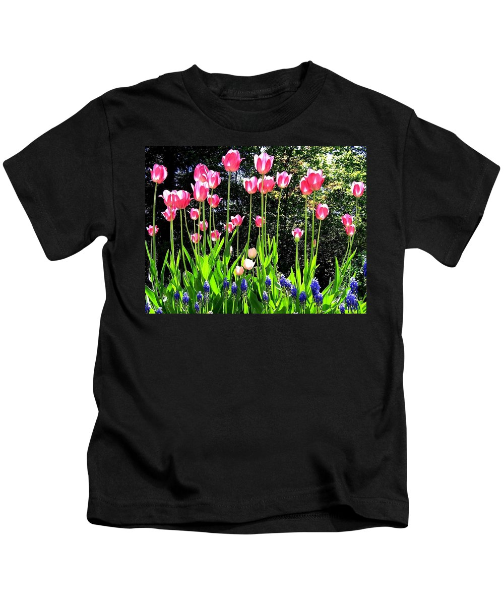 Tulips Kids T-Shirt featuring the photograph Tulipfest 10 by Will Borden