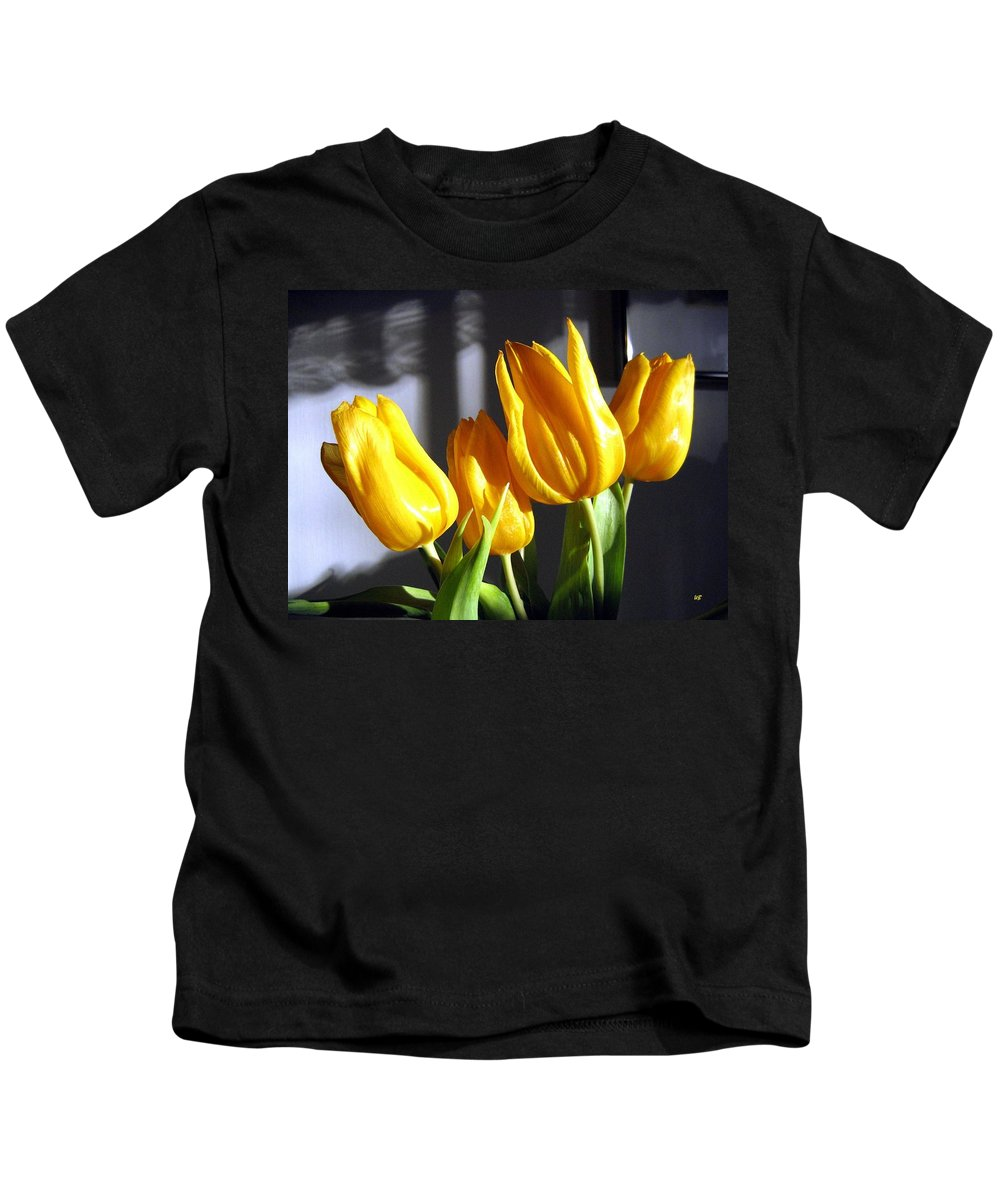 Tulips Kids T-Shirt featuring the photograph Tulipfest 2 by Will Borden