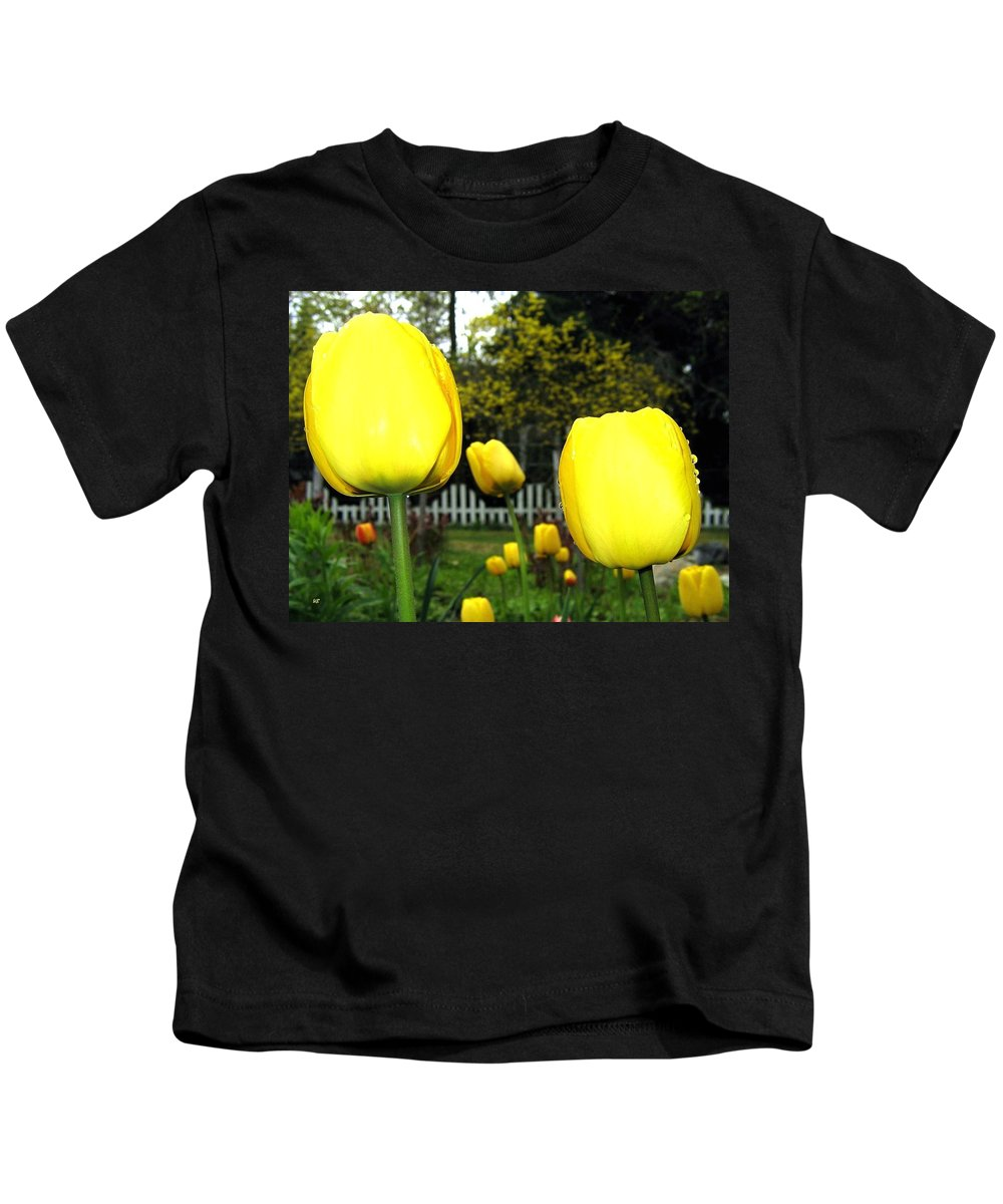 Tulips Kids T-Shirt featuring the photograph Tulipfest 8 by Will Borden