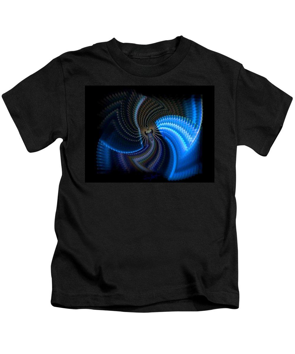Chaos Kids T-Shirt featuring the photograph Turbine Dynamo by Charles Stuart