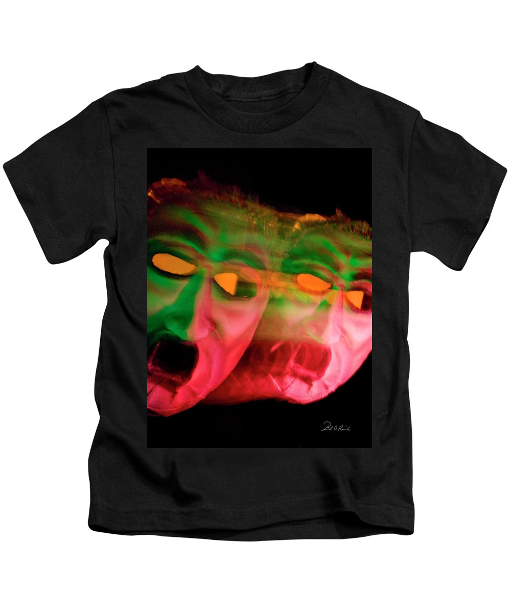 Photography Kids T-Shirt featuring the photograph Turning Green With Envy by Frederic A Reinecke