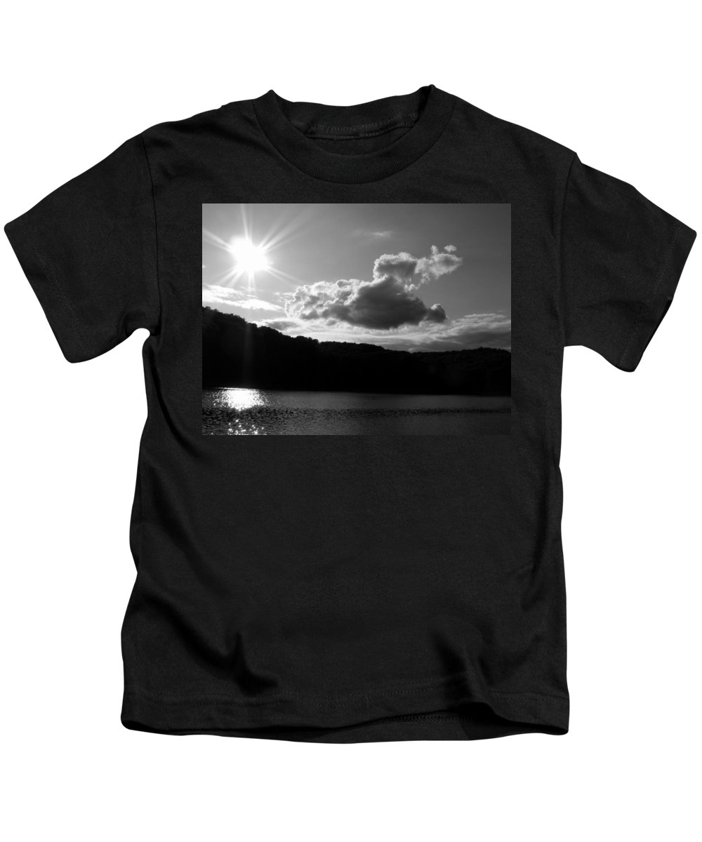 Trees Kids T-Shirt featuring the photograph Twin Sons by Ed Smith
