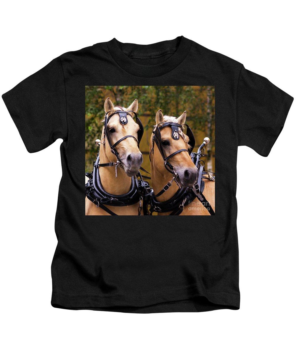 Svetlanistaya Kids T-Shirt featuring the photograph Two Norwegian Fjords 3 by Svetlana Svetlanistaya