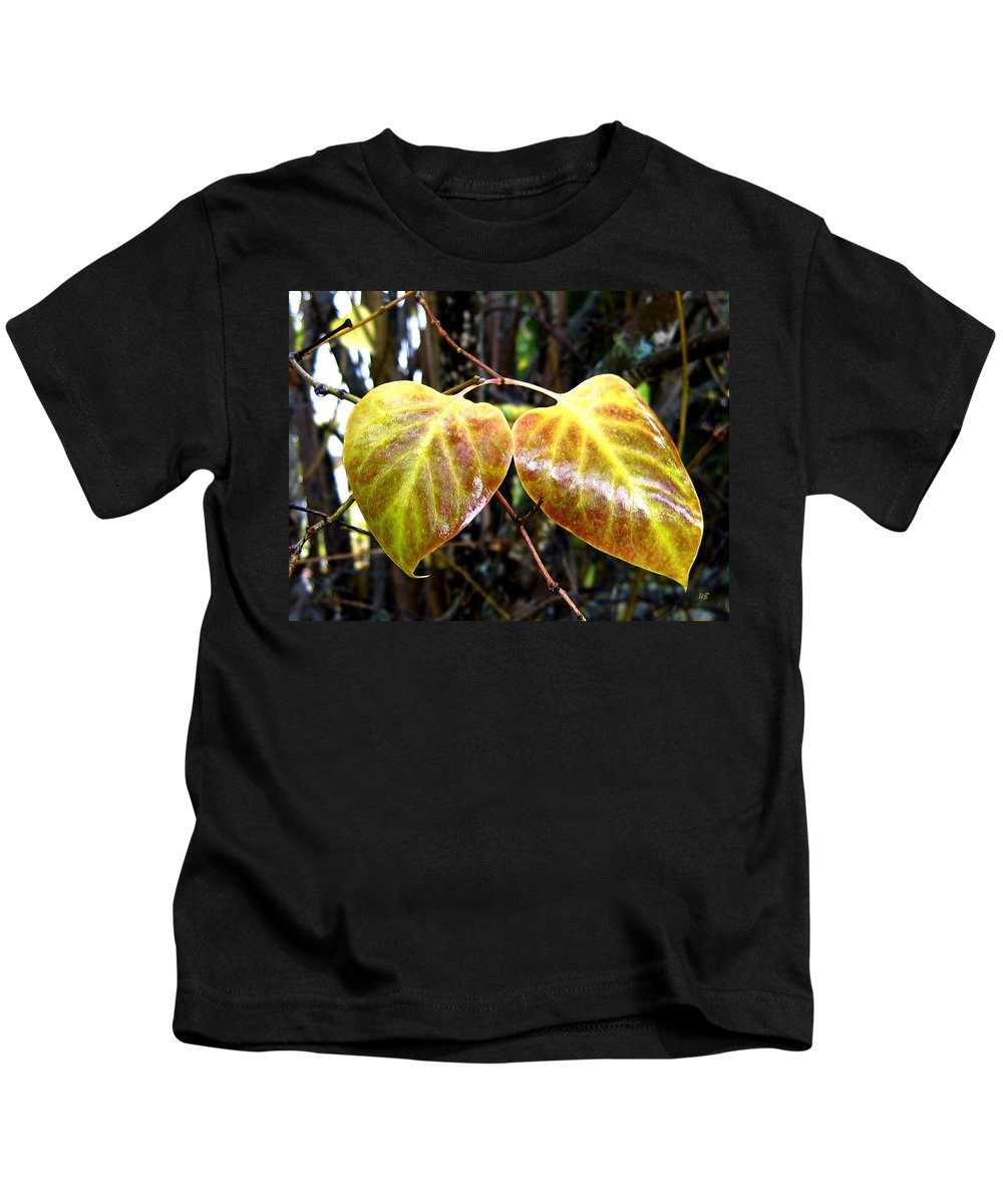 Autumn Kids T-Shirt featuring the photograph Two Of A Kind by Will Borden
