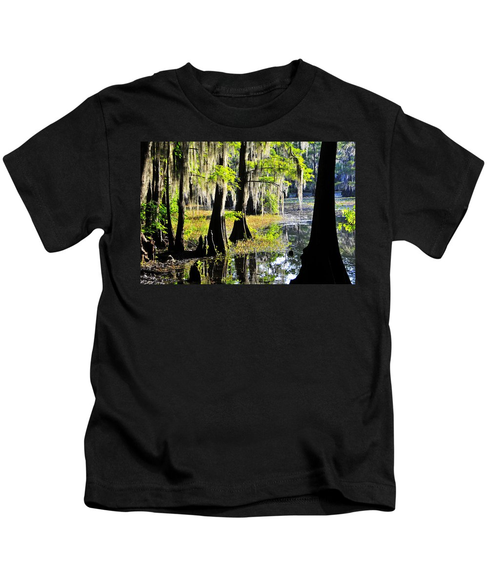 Skip Hunt Kids T-Shirt featuring the photograph Uncertain by Skip Hunt