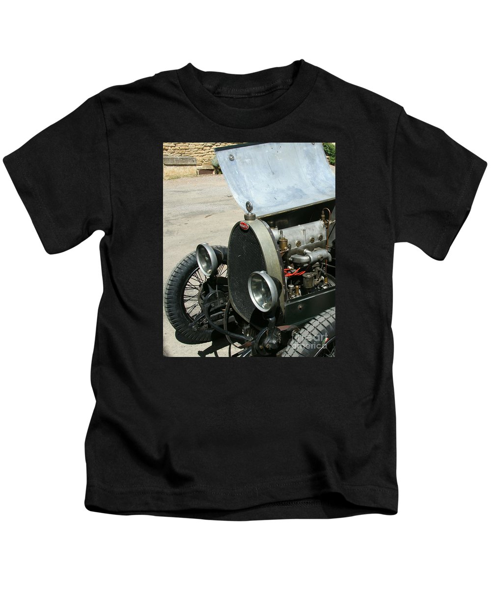 Hood Kids T-Shirt featuring the photograph Under The Hood by Christiane Schulze Art And Photography