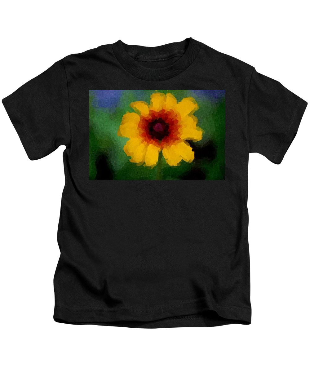 Digital Photograph Kids T-Shirt featuring the photograph Untitled 9-15-09 by David Lane