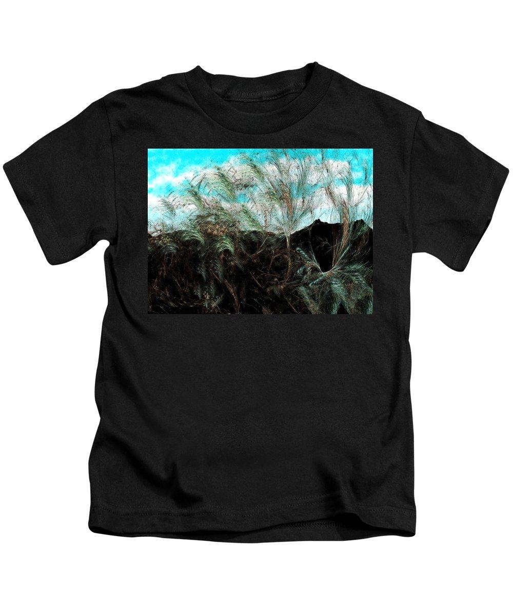 Digital Photograph Kids T-Shirt featuring the digital art Untitled 9-26-09 by David Lane