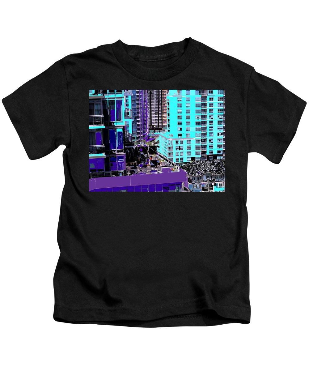 Kids T-Shirt featuring the photograph Urban Jungle by Ian MacDonald