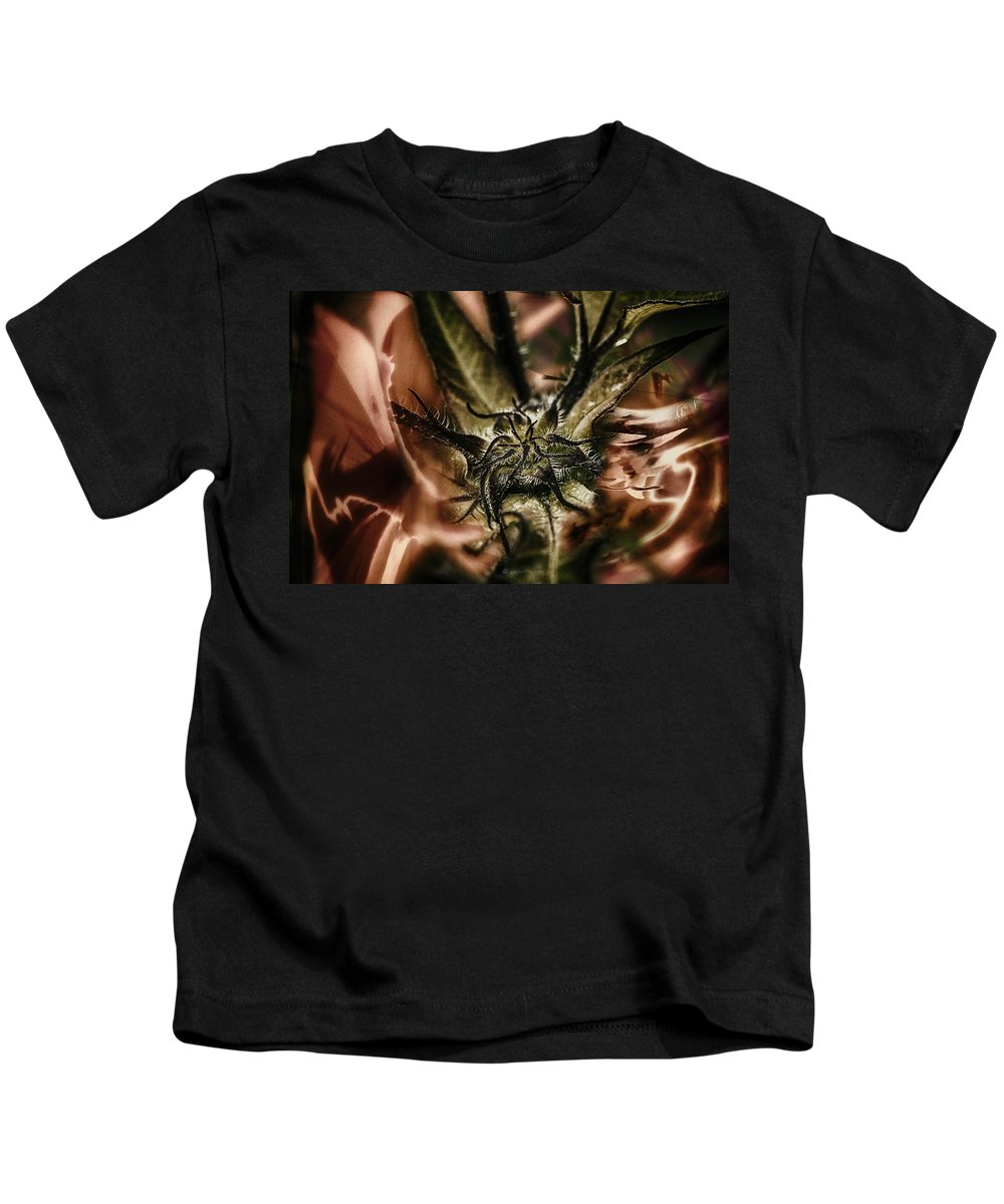 Kids T-Shirt featuring the photograph Velvet Under.... by Paul Vitko