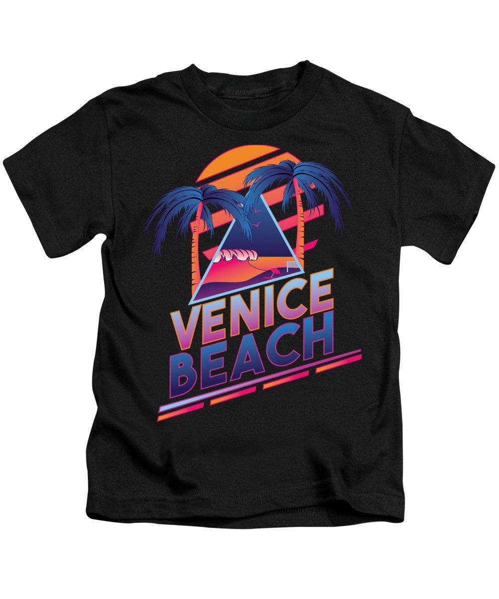 Venice Beach Kids T-Shirts