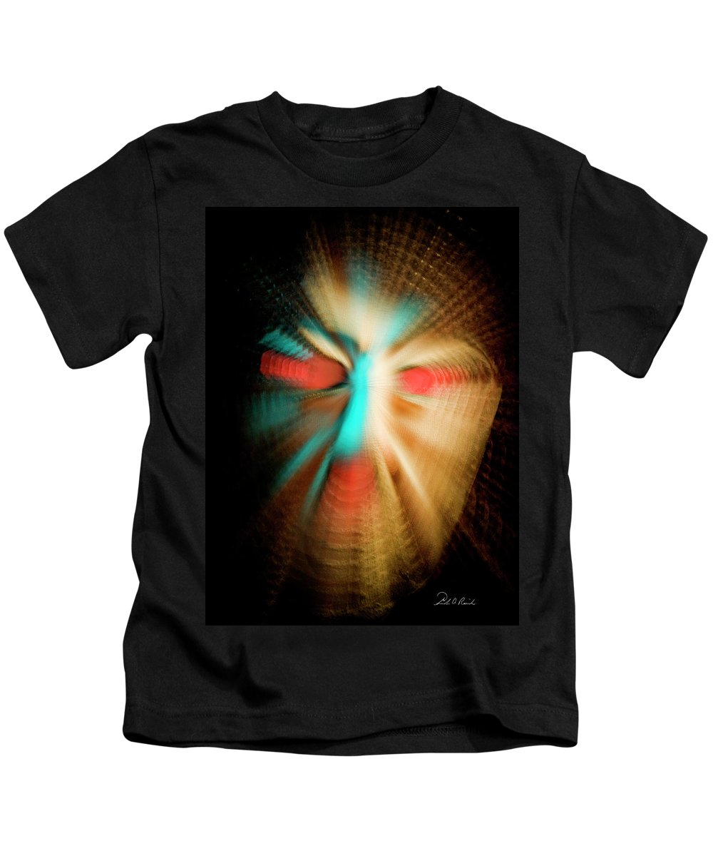 Photography Kids T-Shirt featuring the photograph Vibrato by Frederic A Reinecke
