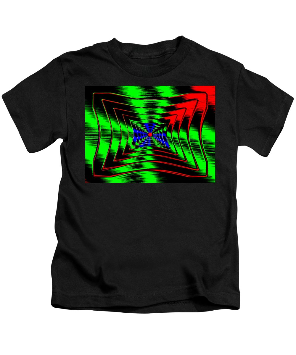 Energizing Kids T-Shirt featuring the digital art Vim And Vigor by Will Borden