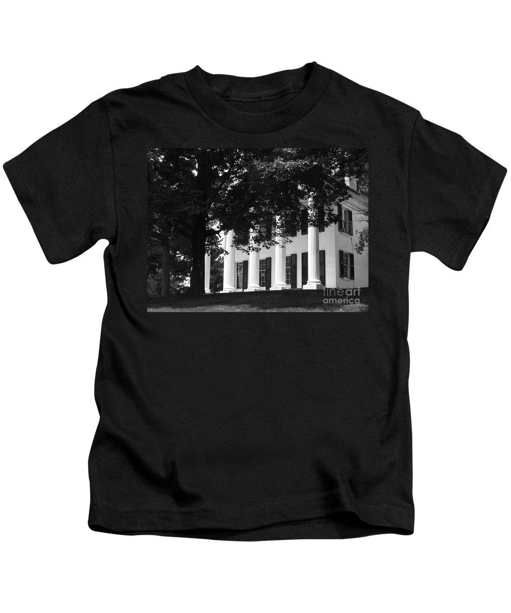Vintage Kids T-Shirt featuring the photograph Vintage Splendor by Ann Horn