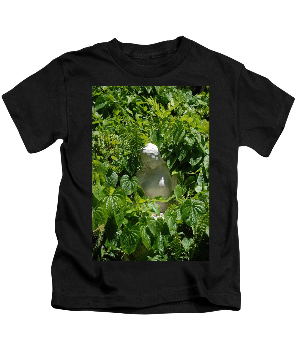 Miami Monastery Kids T-Shirt featuring the photograph Virgin Mary by Rob Hans