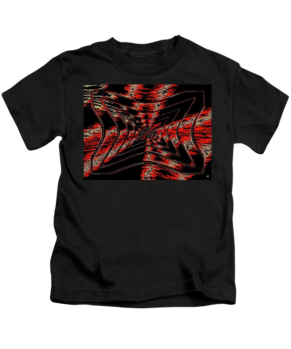 Abstract Kids T-Shirt featuring the digital art Voltage by Will Borden