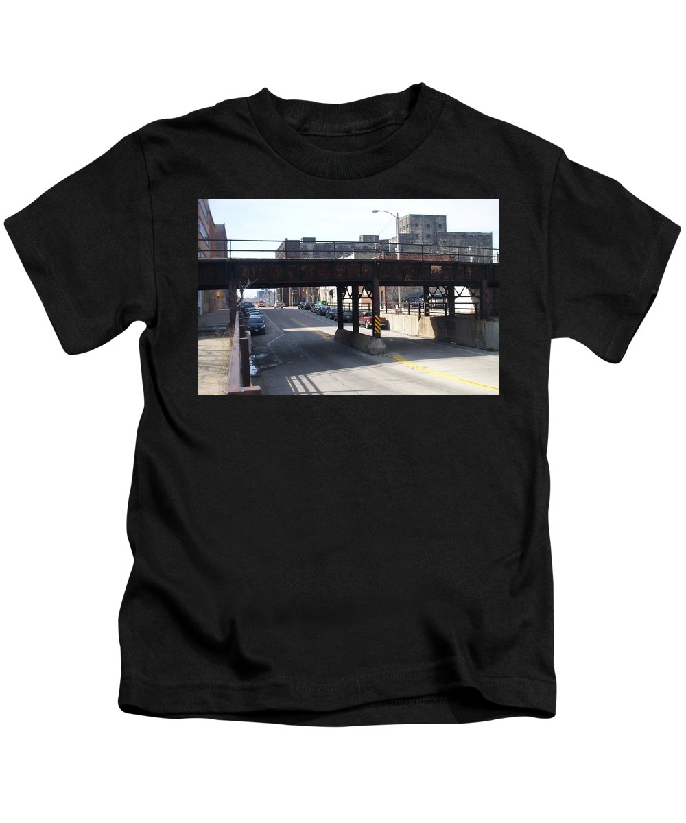 Walker's Point Kids T-Shirt featuring the photograph Walker's Point 4 by Anita Burgermeister