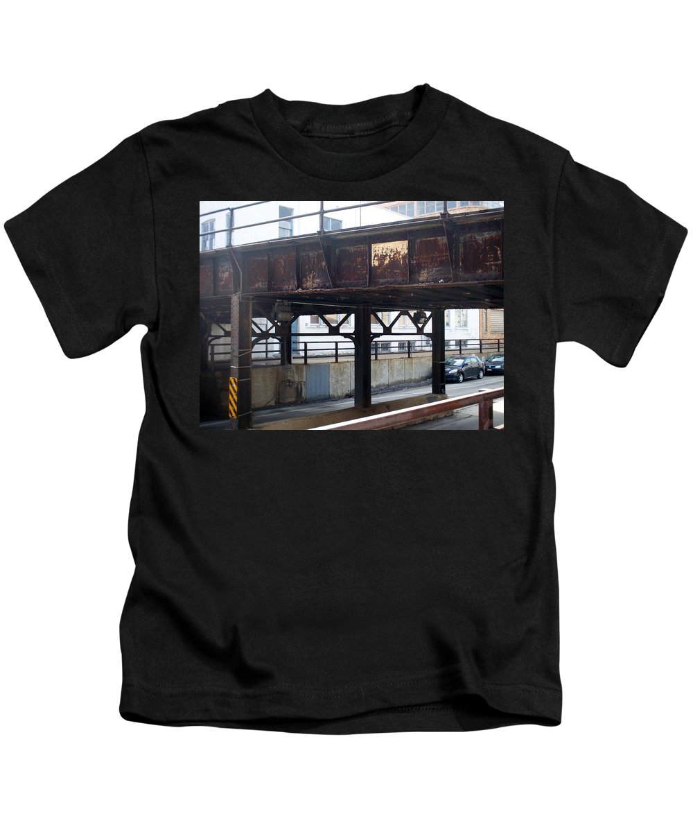 Walker's Point Kids T-Shirt featuring the photograph Walker's Point 5 by Anita Burgermeister