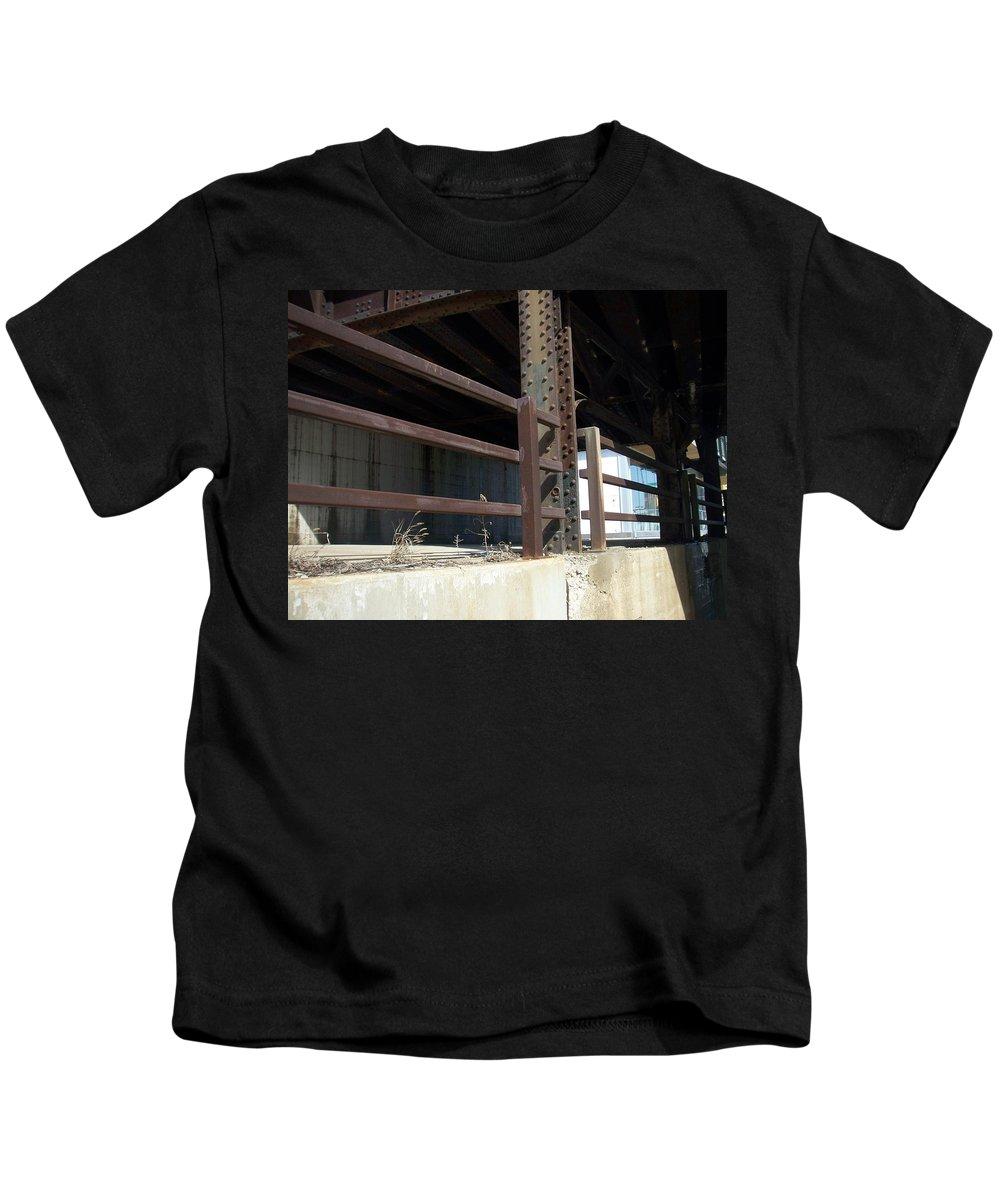 Walker's Point Kids T-Shirt featuring the photograph Walker's Point 8 by Anita Burgermeister