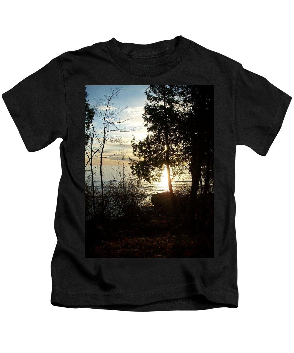 Washington Island Kids T-Shirt featuring the photograph Washington Island Morning 2 by Anita Burgermeister