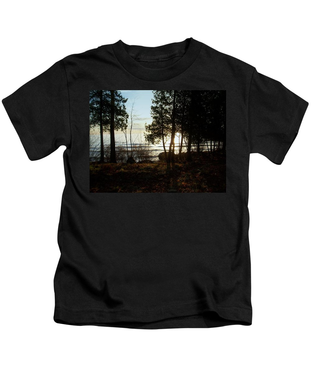 Washington Island Kids T-Shirt featuring the photograph Washington Island Morning 3 by Anita Burgermeister