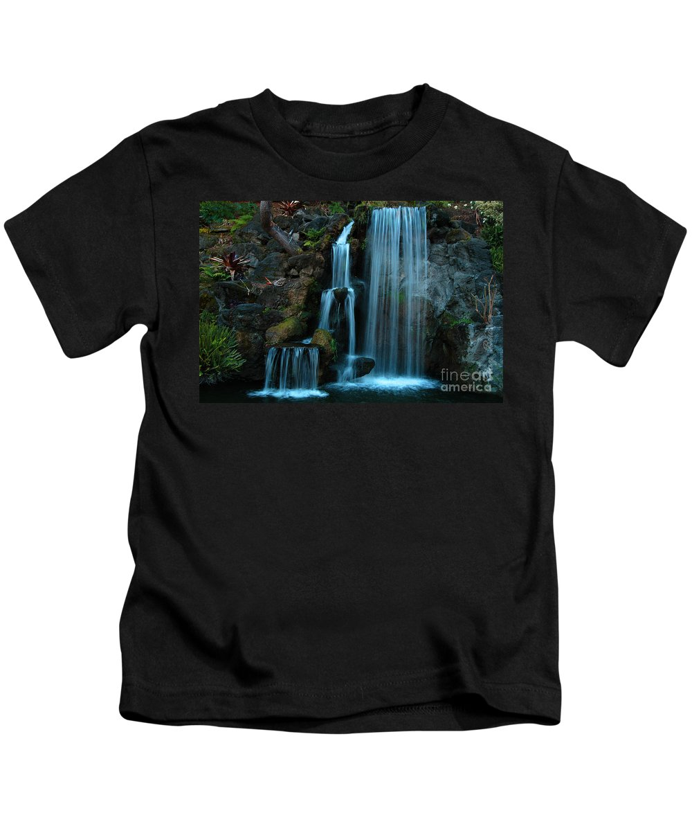 Clay Kids T-Shirt featuring the photograph Waterfalls by Clayton Bruster
